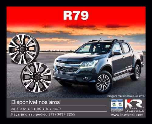 jg roda s-10 ltz aro 18 6x139 s10 silverado l200 ranger r79
