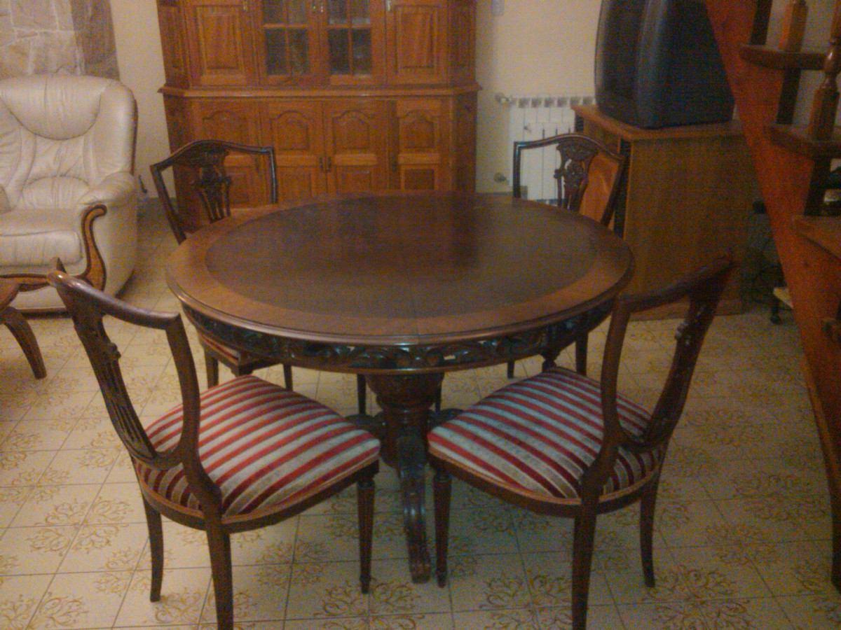 Comedores mesa redonda good juego de comedor mesa redonda for Comedor pequea o 4 sillas