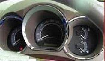 jgo cromado de aplique aro velocimetro painel hilux 2005/