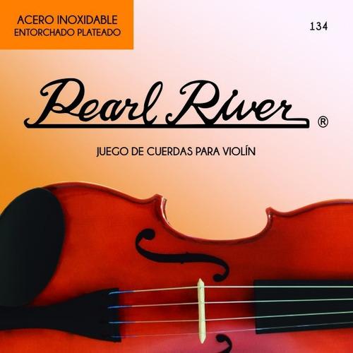 jgo cuerdas violin 4/4 pearl river 134-4/4 envio inmediato/
