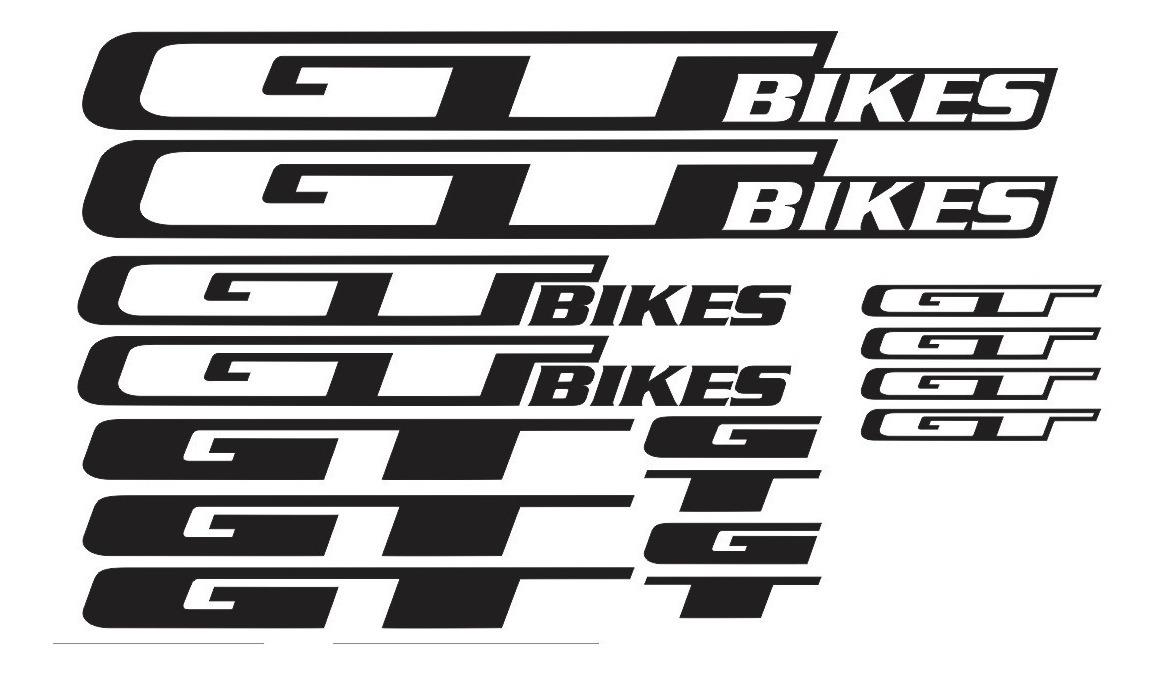 GT BICYCLES BMX MTB STICKER