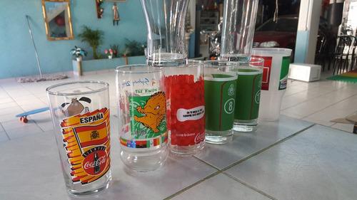jgo de 8 vasos coca cola collection envio gratis