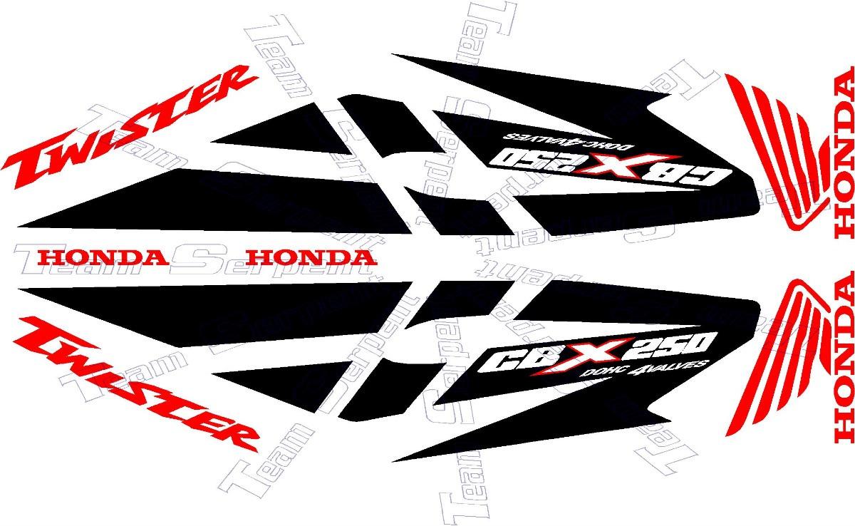 Jgo De Calcomanias Para Moto Honda Cbx Twister 250 600