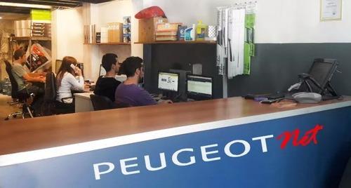 jgo. discos y pastillas freno tras. p/ peugeot 206 1.6 16v