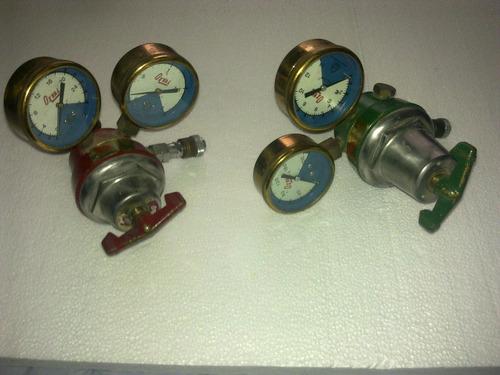 jgo manómetros  oxí-acet y otro de refrigeración