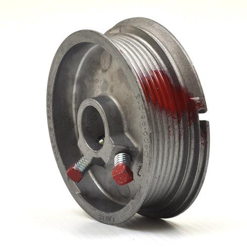 jgo. poleas para cable de acero para portones ascendentes