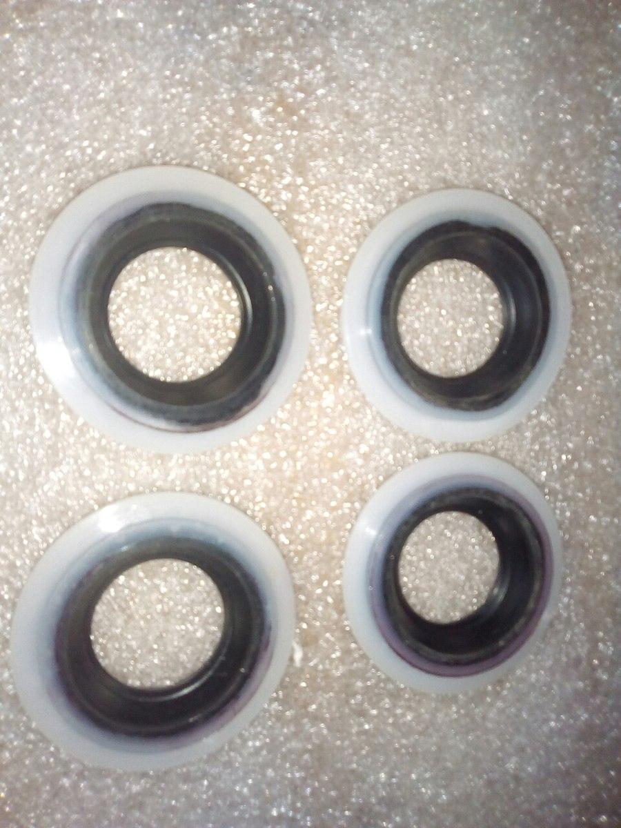 Jgo. Reten (4) Tapa Punterias Nissan Xtrail 02/06 2.5 L ...