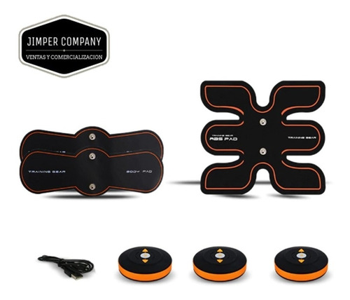jgym entrenador fitpad smart abs eléctrico 3 en 1 (a pedido)
