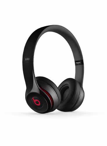 jh audifonos beats solo2 wired on-ear headphones - black