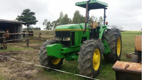 jhon deer 7400 4x4 130 hp año 2001