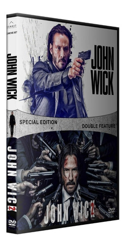 jhon wick coleccion dvd latino/ingles subt español