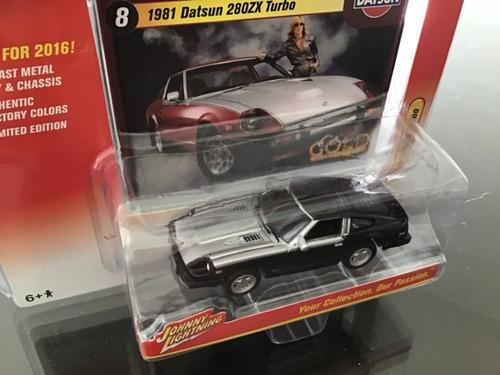 jhonny lightning datsun 1981 coleccion auto antiguo la plata