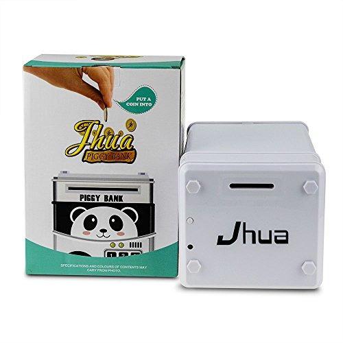 jhua cartoon electronic password piggy bank moneda en efecti