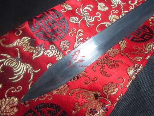 jian tradicional espada chinesa tai chi kung fu certificado