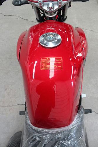 jianshe js 125 yb 0km 2018 nuevo modelo rojo  hasta el 19/10