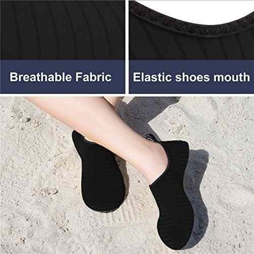 jiasuqi mens atlético playa sandalias zapatos no 37