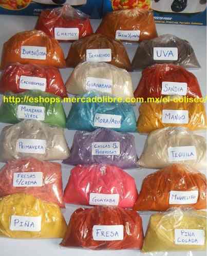 jicaletas fuente - antioxidante y polvo miguelito de sabores