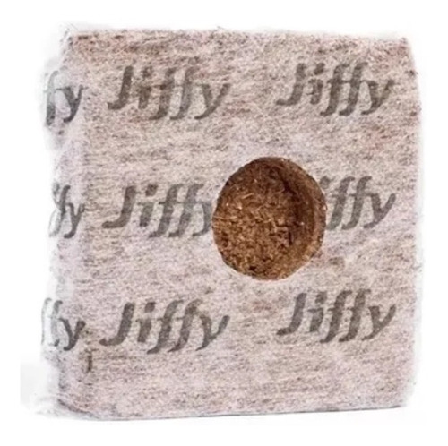 jiffy 5x5 growblock fibra de coco (200cc) x5 unidades