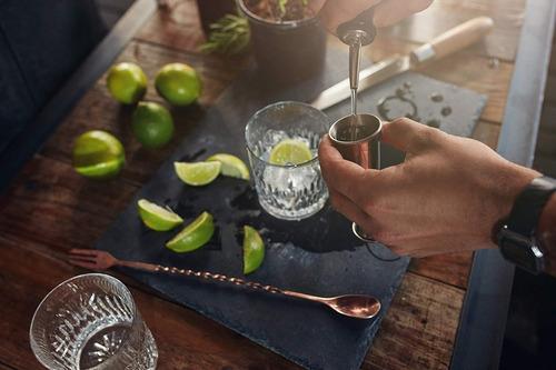 jigger medidor estilo japones 1 y 2oz barman cocteleria