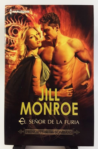 jill monroe - el señor de la furia (papel, importado)