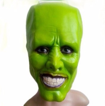 jim carrey the mask mascara halloween disfraces terror