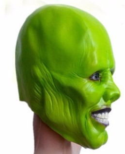 jim carrey the mask mascara halloween envío gratis