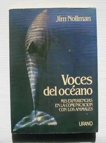 jim nollman voces del oceano libro importado 1987