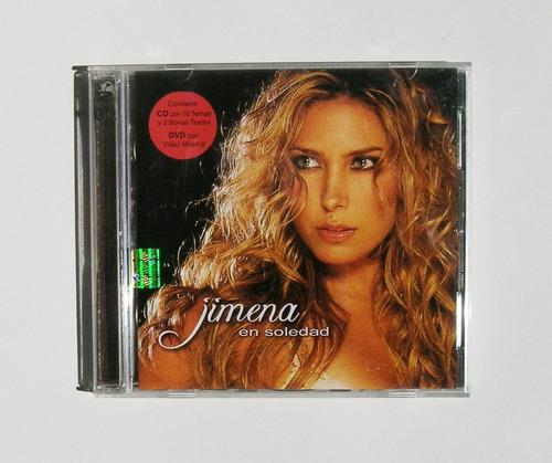 jimena en soledad cd + dvd mexicano 2005