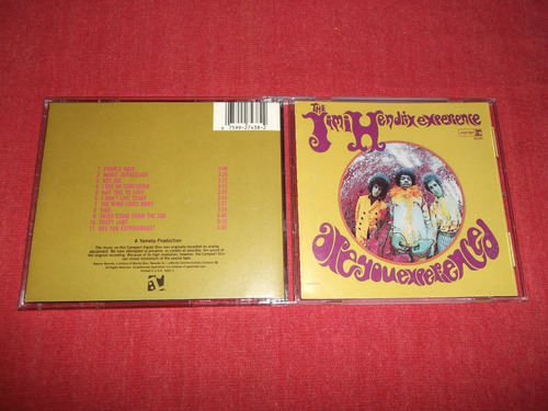 jimi hendrix - are you experienced cd imp ed 1990 mdisk