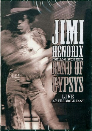 jimi hendrix band of gypsys - live at fillmore east dvd