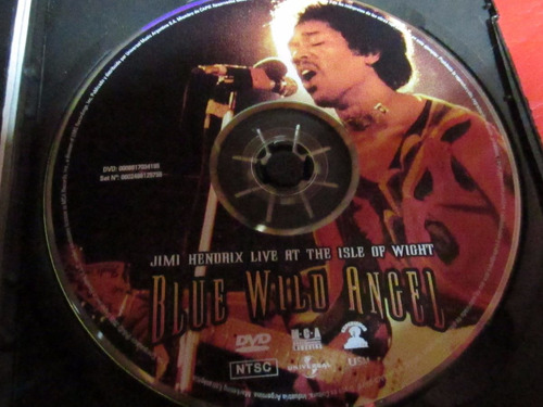 jimi hendrix blue wild angel live at the isle of wight +2cds