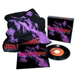 jimi hendrix - box set vinilo 7 & t- shirt imperdible oferta