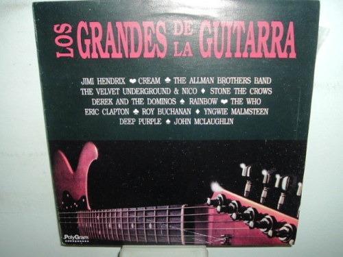 jimi hendrix cream grandes de la guitarra vinilo argentino