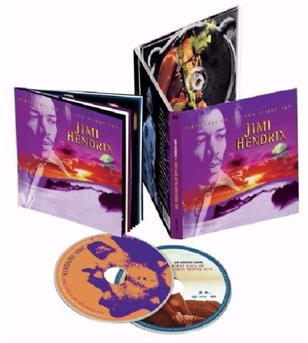 jimi hendrix first rays of the new rising sun cd + dvd nuevo