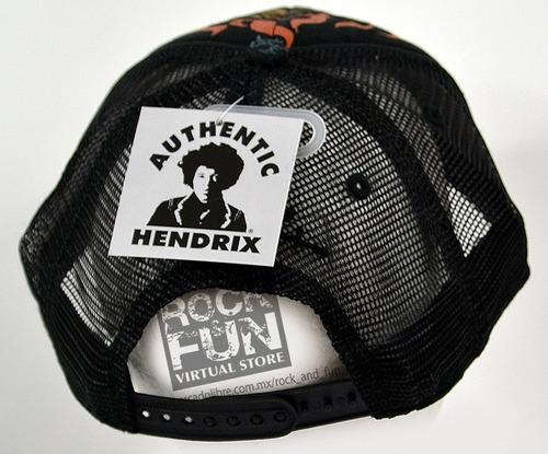 jimi hendrix gorra trucker importada 100% original
