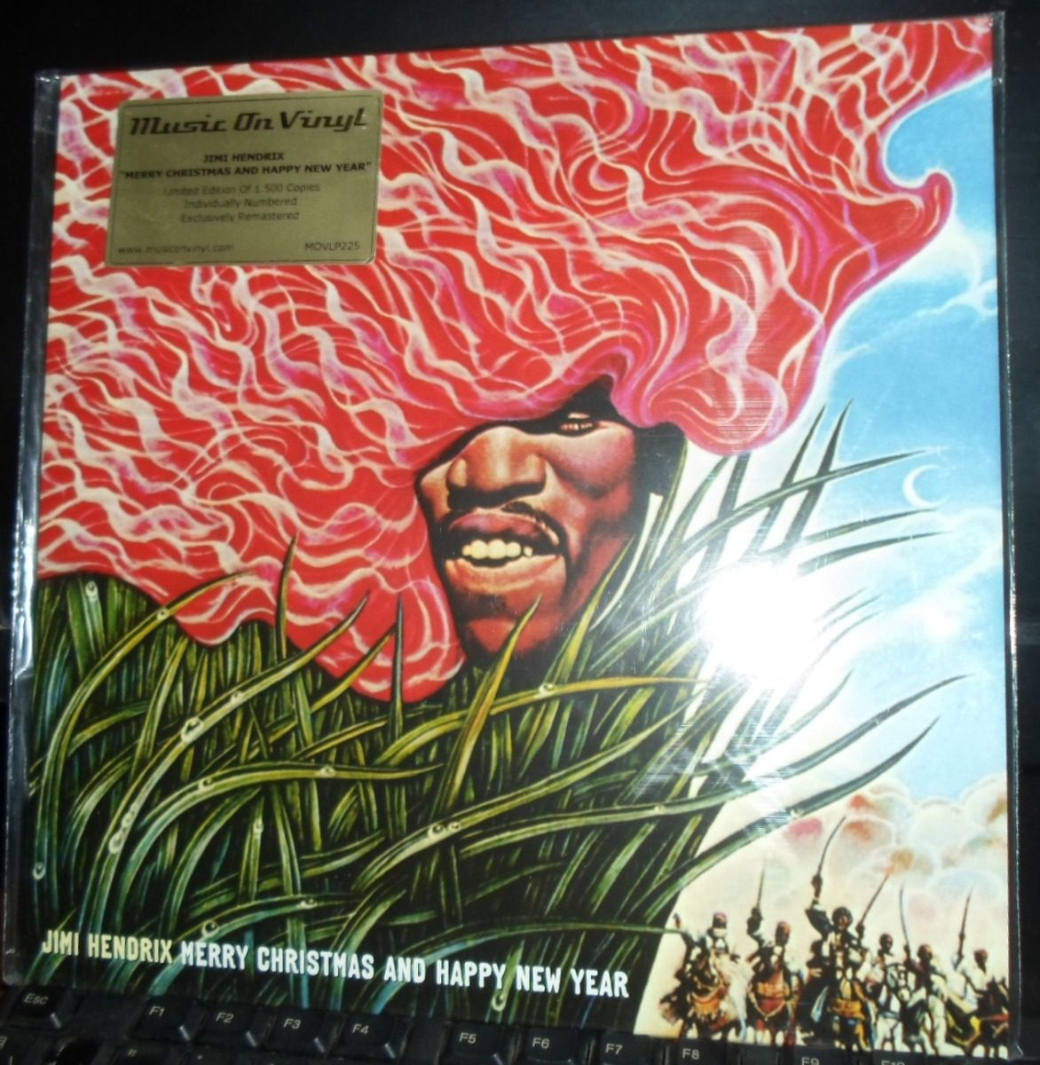 Jimi Hendrix Lp Merry Christmas And A Happy New Year - $ 550.00 en ...