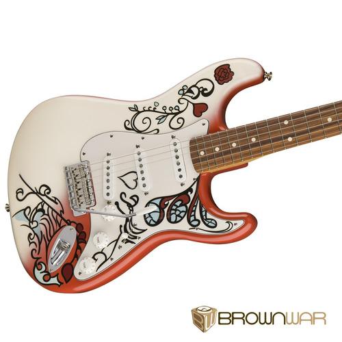 jimi hendrix monterey stratocaster®, pau ferro fingerboard