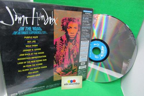jimi hendrix on thee road disco laserdisck video eilcolombia