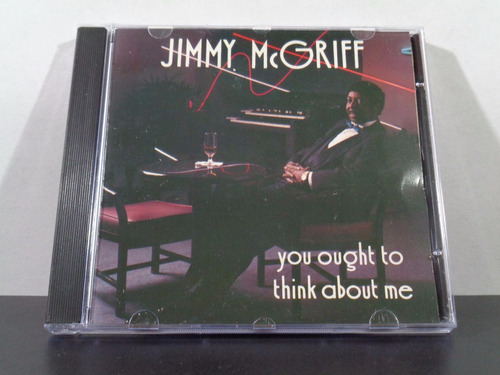 jimmy mcgriff - you ought to think about me - cd imp jazz