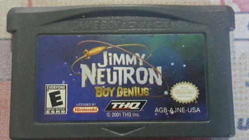 jimmy neutron boy genius gameboy advance $5.990 karasu big!!