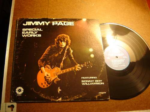 jimmy page (led zeppelin) special early works lp rarisimo !