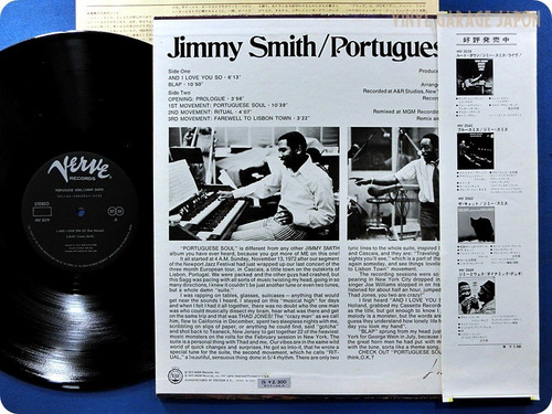 jimmy smith. poutuguese soul.vinil import..japan.obi.zerado.