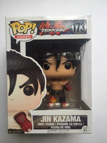 jin kazama pop games 173 tekken - funko - bonellihq l18