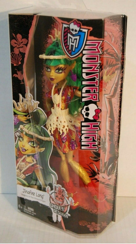 jinafire long monster high doll ghouls \ 'getaway nib