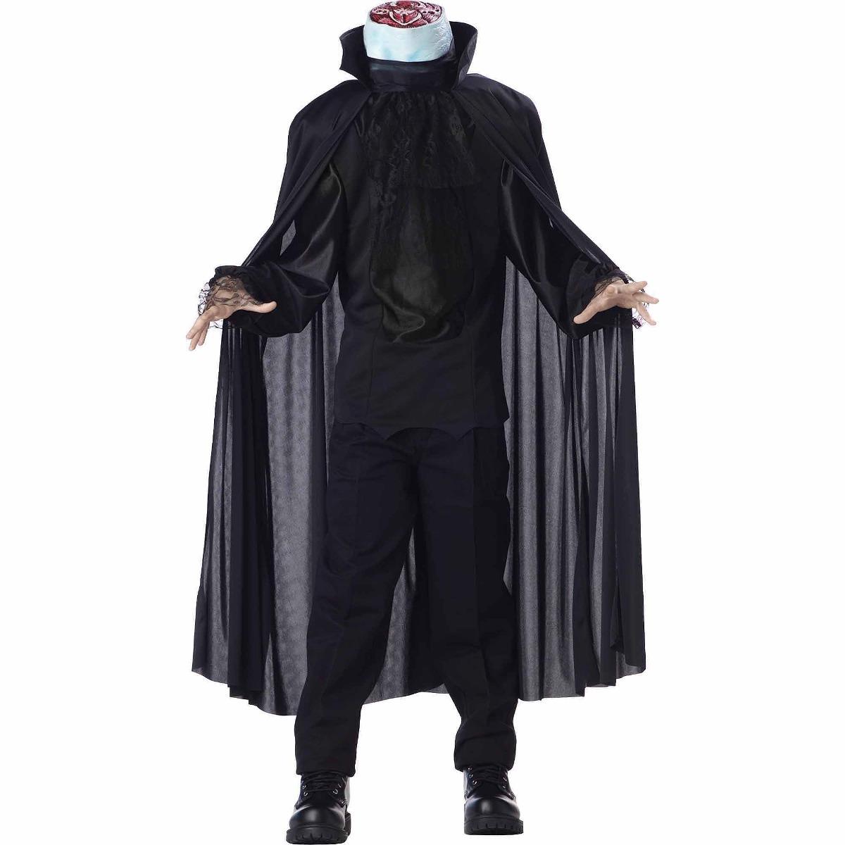 Jinete Sin Cabeza Nino Disfraces De Halloween 179550 En Mercado - Disfraces-sin-cabeza