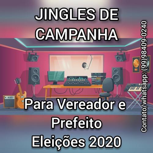 jingles - músicas para campanha - qualidade e preço baixo