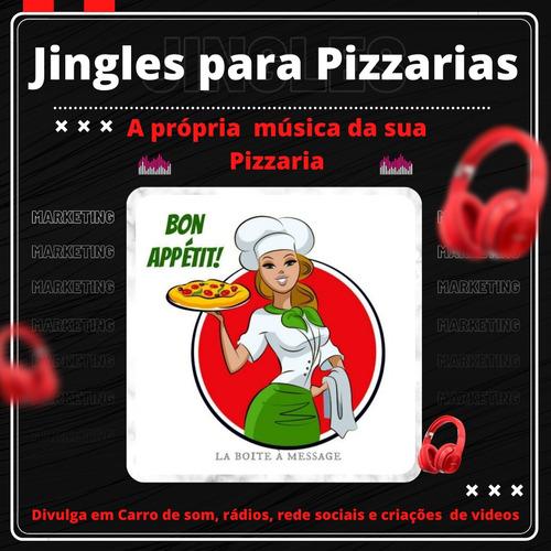 jingles para pizzarias