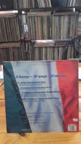 jinny-keep warm vinilo 1995 uk  maxi house electronica