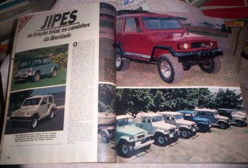 jipes bugs onibus salão automovel 1984