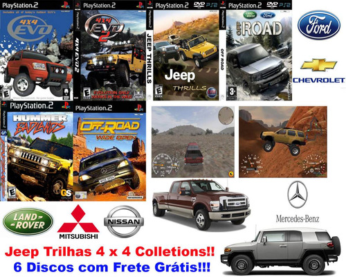 jipes & trilhas collections - playstation 2